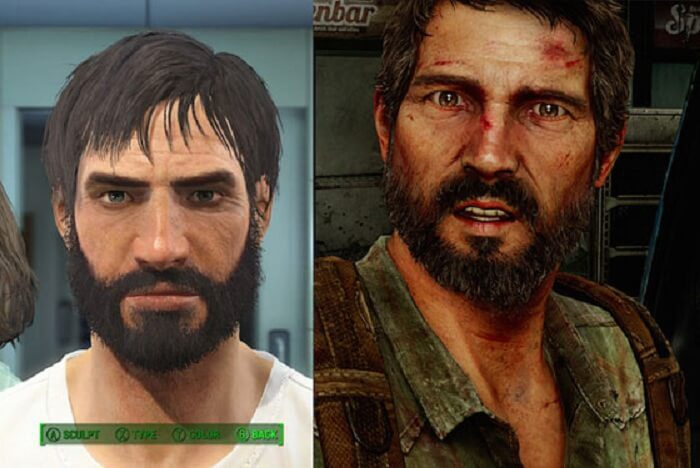 This player has worked really hard to make Joel from The Last Of Us his character.