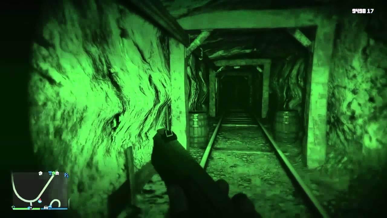 GTA Haunted mine
