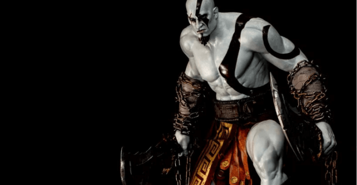 Kratos statue 4