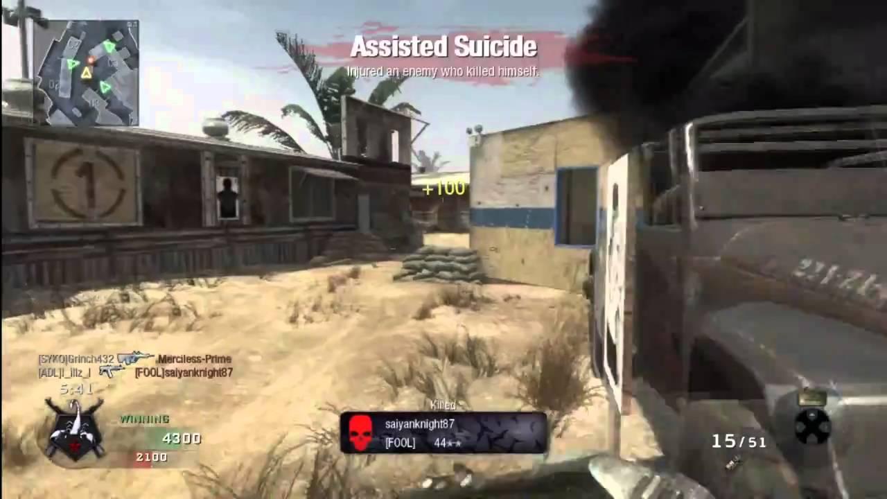cod suicide