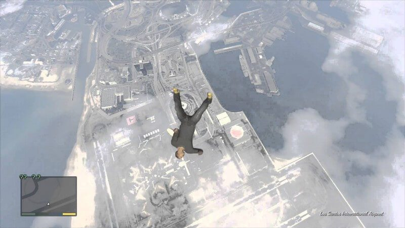 gta falling