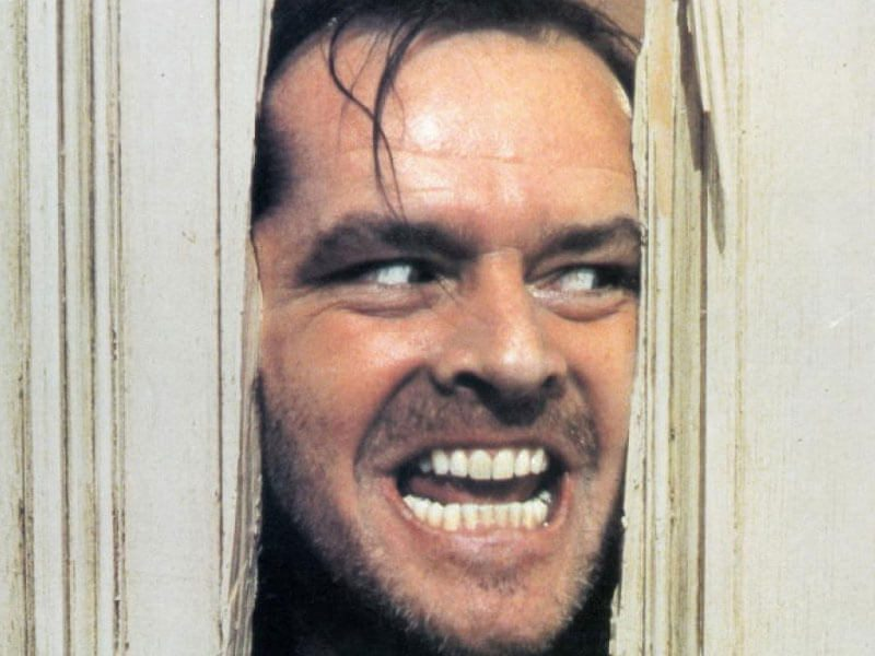 The game Insane didn't actually have anything to do with the Shining, but Jack's crazy face will have to tide you over since we don't have any images from the game. Come to think of it... a game based on The Shining would be awesome, especially with del Toro at the helm.