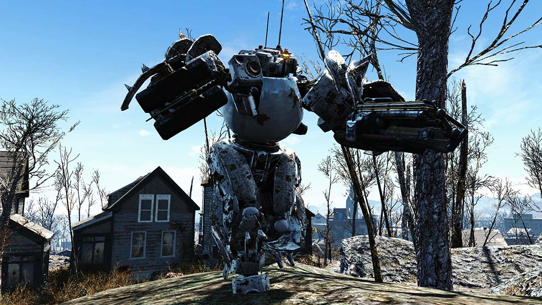 Fallout 4 players are turning codsworth into a monster for Best house design fallout 4