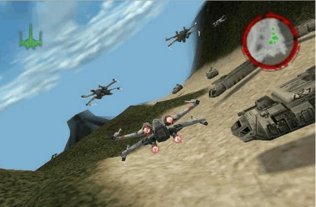 star wars rogue squadron screenshot