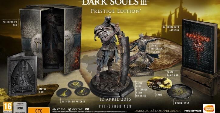 dark souls 3 presitge edition