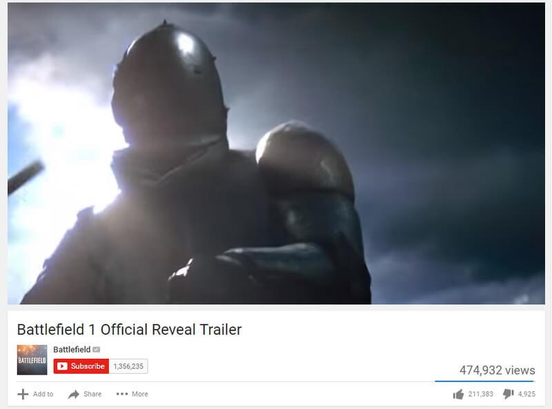 Image: Battlefield Reveal Trailer