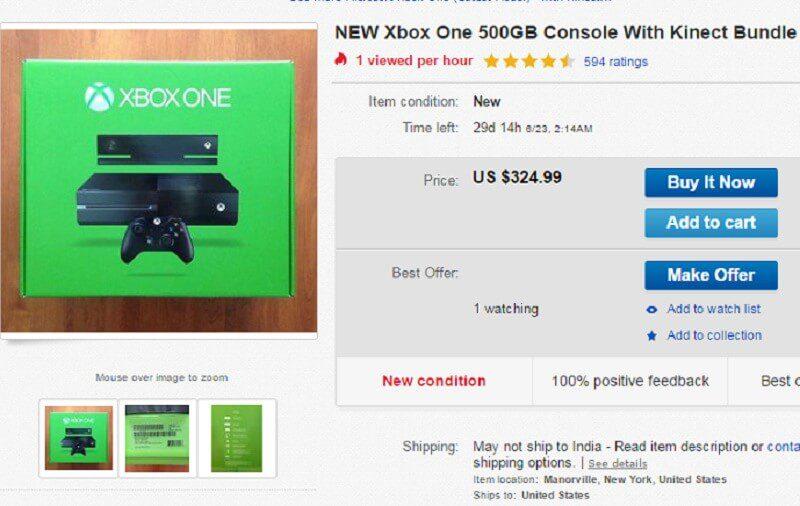 Representative Image: ebay.com