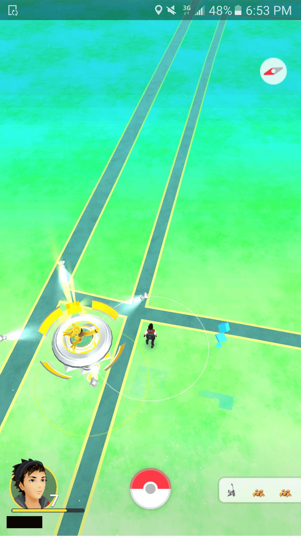 Pokémon GO-Spieler hat sich zu Area 51 begeben und leere