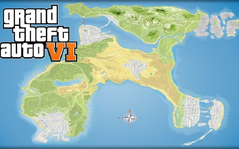 GTA News All You Need To Know About The Upcoming GTA Game - Gta 6 london map