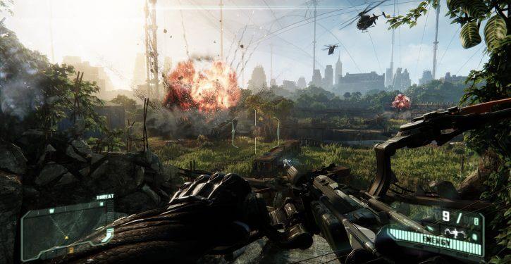 Crysis 3 best shooting games