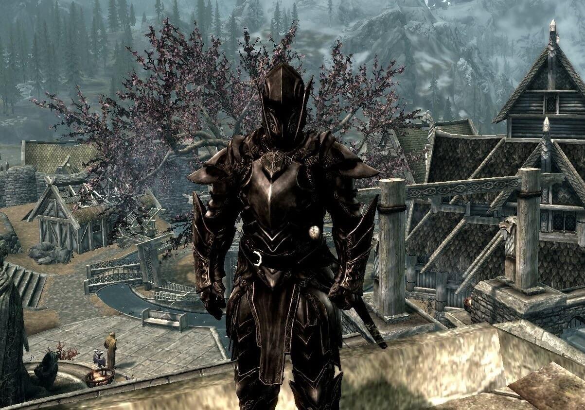 Skyrim how to find ebony armor