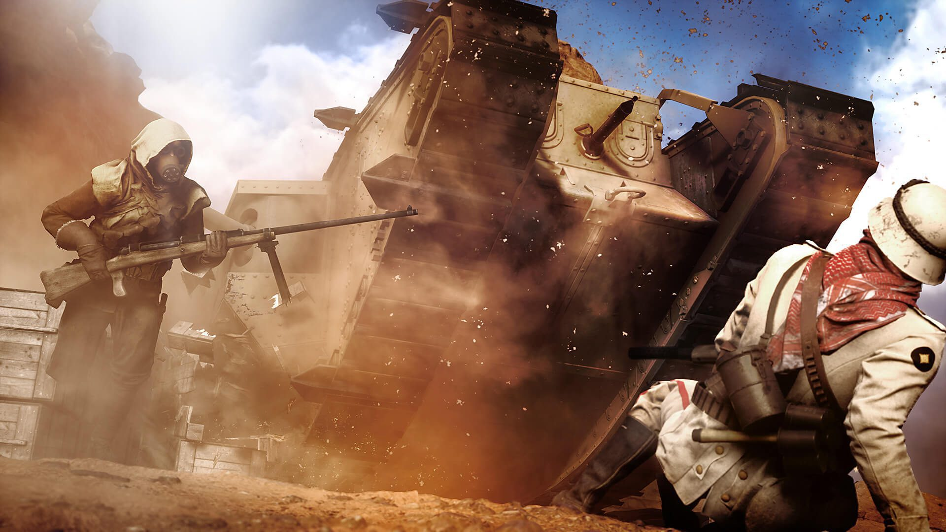 sinai desert battlefield 1