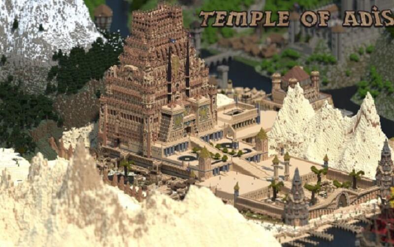Игрок в Minecraft потратил 5 лет на создание самой сложной и насыщенной деталями карты