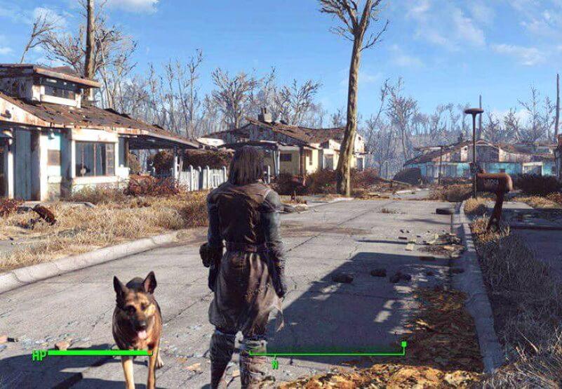 Fallout 4 explore