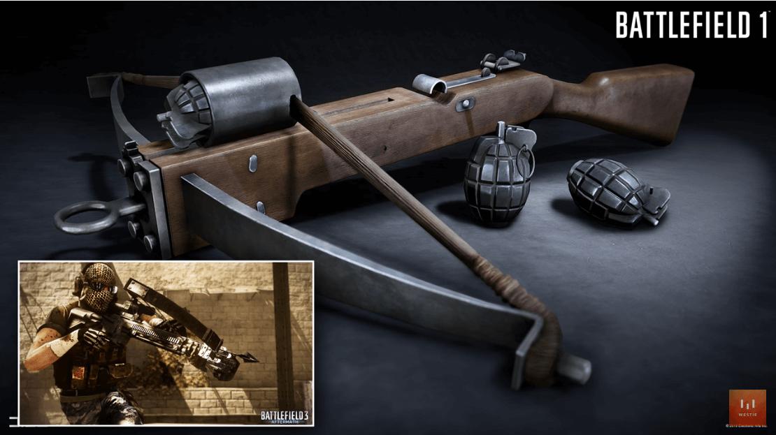 battlefield 1 crossbow