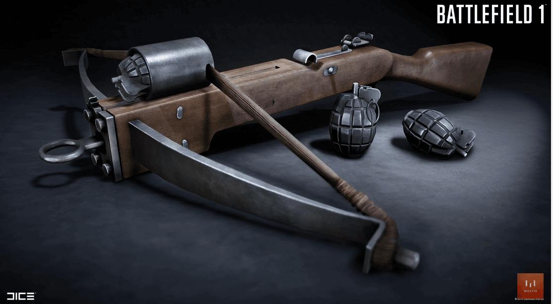 В Сеть слита информация о новом и, возможно, лучшем оружии для медика в Battlefield 1