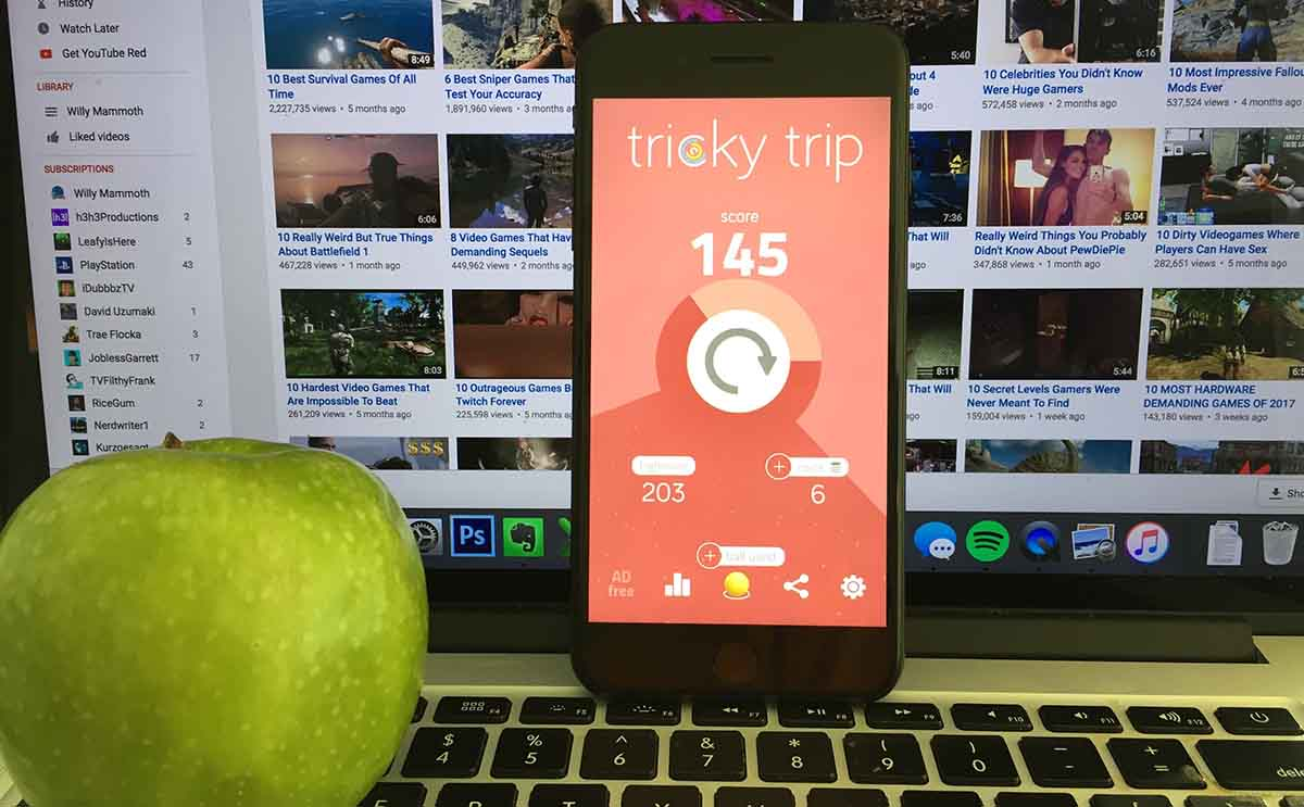 tricky trip action featured