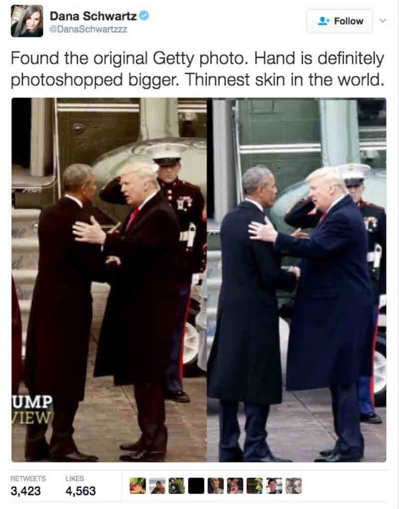 trumps hand photoshopped 2