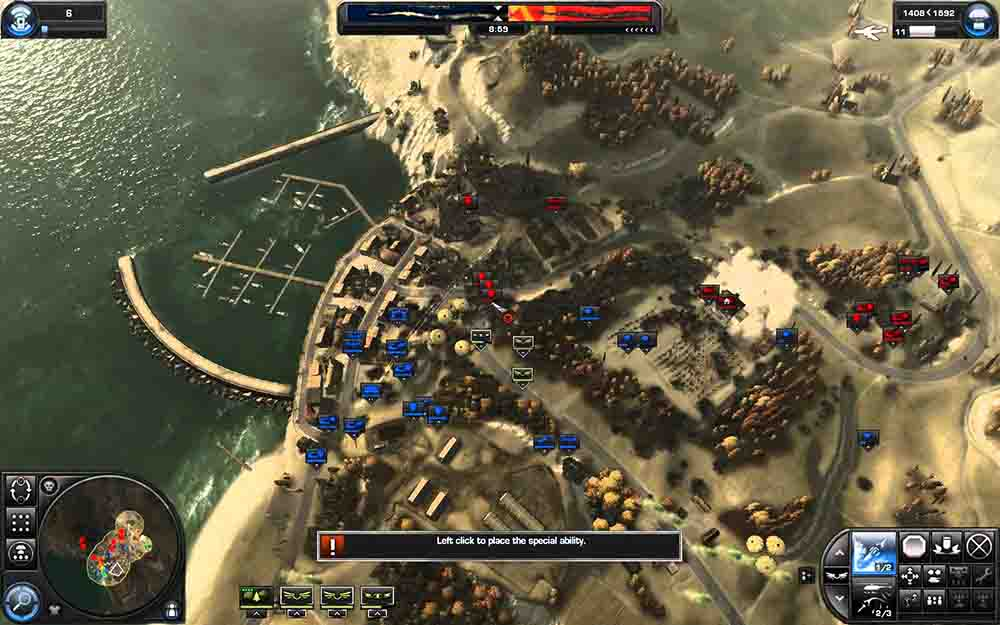 world of conflict gameplay