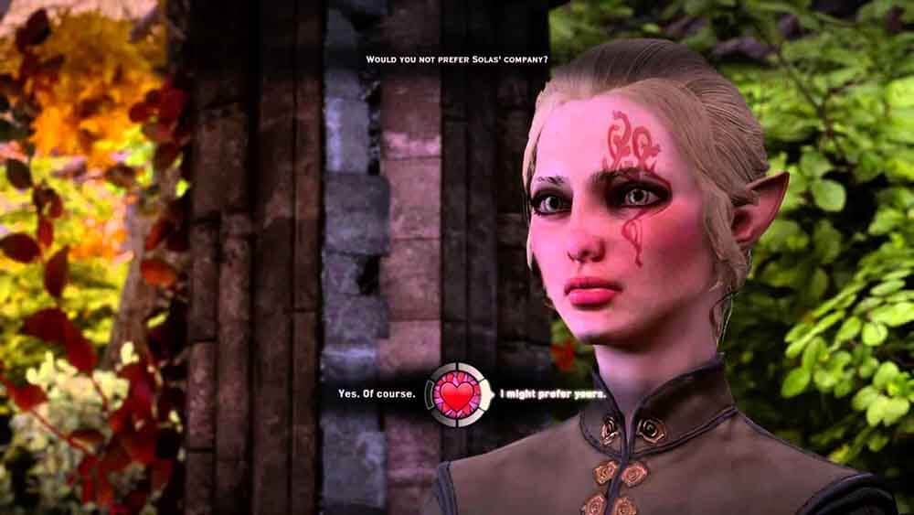 dragon age inquistion flirt