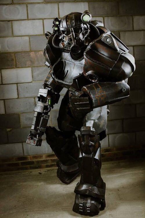 Лучший вид силовой брони Fallout - работающий в реальной жизни
