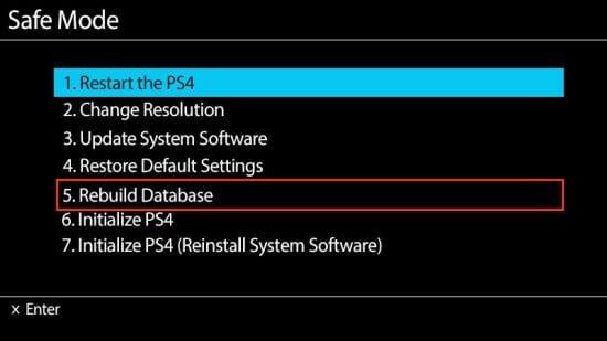 Реконструкция базы данных PS4 и файловая система